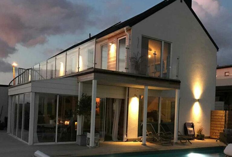 Nybyggt hus i Skåne